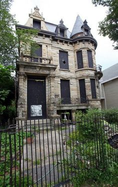 Abandoned Franklin Castle, Cleveland Ohio