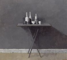 Grey Still Life I  (1969), William Booker, #art #stilllife