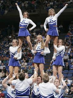 when I was younger I always told my parents I wanted to be a UK Cheerleader