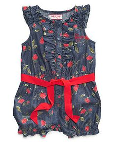 Baby Girl Clothes at Macy's come in a variety of styles and sizes. Shop Baby Girl Clothing at Macy's and find newborn girl clothes, toddler girl clothes, baby dresses and more. Newborn Outfits, Toddler Outfits, Kids Outfits, Newborn Clothing, Baby Girl Romper, My Baby Girl, Baby Girls, Girly Girls, Baby Girl Fashion