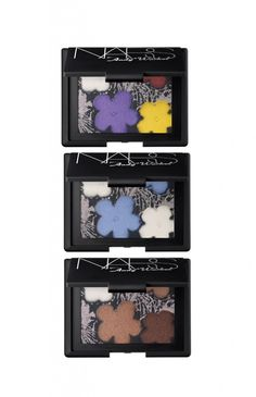 Nars x Andy Warhol flower palettes
