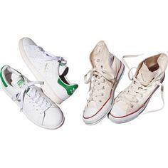 洗濯王子が解決!真っ白をキープする白スニーカーのお手入れ方法とは?Marisol ONLINE 女っぷり上々!40代をもっとキレイに。
