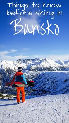 Everything you need to know before you go skiing in Bansko, Bulgaria. Including winter tips, restaurant advice, where to find luxury hotels and resorts for all seasons. One of the most affordable places in Europe to ski and snowboard!