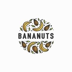 Fun and organic logo design 😁 ⚪ ⚪ *unused concept - available for purchase* ⚪ ⚪ + nuts = bananuts! Fun and organic logo design 😁 ⚪ ⚪ *unused concept - available for purchase* ⚪ ⚪ 455567318553688585 petit pont kitchen + farm logo Juice Logo, Juice Branding, Logo Branding, Branding Design, Advert Design, Best Logo Design, E Design, Fruit Logo, Organic Logo