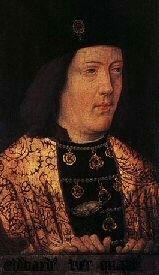 Edward IV, painting at Warwick Castle