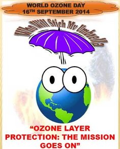 """"""" Earth without ozone is like a house without a roof. Ozone Depletion, International Days, Ozone Layer, Global Warming, Climate Change, Teaching Ideas, Back To School, Activities For Kids, Presentation"""