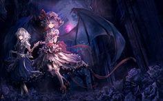 Touhou maids izayoi sakuya vampires remilia scarlet