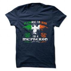 Cool T-shirt It's an MCPHERON thing, Custom MCPHERON  Hoodie T-Shirts Check more at http://designyourownsweatshirt.com/its-an-mcpheron-thing-custom-mcpheron-hoodie-t-shirts.html
