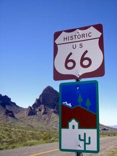 Desert sign.