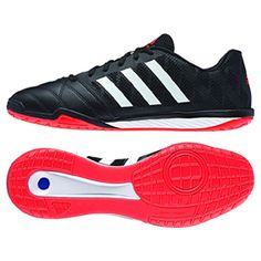 separation shoes f897c f58fb adidas FreeFootball Top Sala Indoor Soccer Shoes (Black Orange) Soccer  Store, Indoor