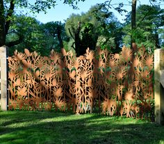 Another of Grace & Webb's laser cut metal screens and panels for luxury architectural and interior installations...