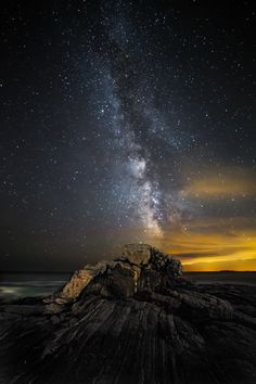 Photo Pemaquid Milky Way by William Nourse on 500px