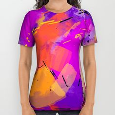 Funky Party All Over Print Shirt