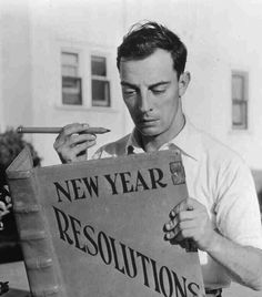 Time to plan my new year's resolutions yet again