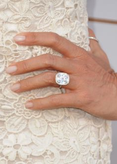 SOFIA VERGARA | After six months of dating, Joe Manganiello proposed on Christmas Day, making the 4 to 5-carat centre stone ring (surrounded by diamonds) one very expensive present. It is reportedly worth half a million dollars. | Getty Images