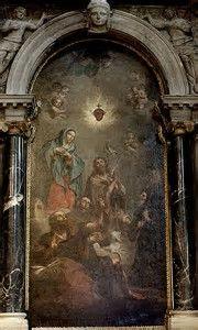 Madonna Addolorata con il sacro cuore di Gesù di Agostino e Bartolomeo Letterini 1730, pittura su tela san Canciano, altare laterale