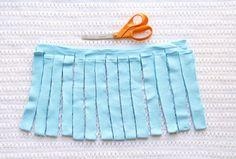 How to make tshirt yarn - step 2.2 - molliemakes.com