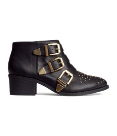 Studded Ankle Boots | H&M US