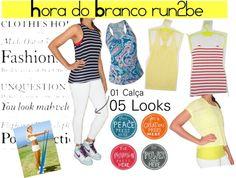 """Hora do Branco run2be"" by roberta-almeida on Polyvore"