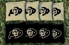 Cornhole All Weather Bag Set - University of Colorado Buffaloes