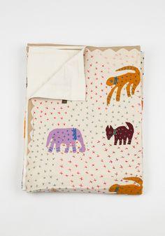The Animal Kingdom Blanket by Gypsya | Bohem