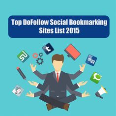 Updated Social Boookmarking Sites Lists 2015