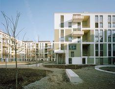 Wohnüberbauung Klee  Knapkiewicz Fickert