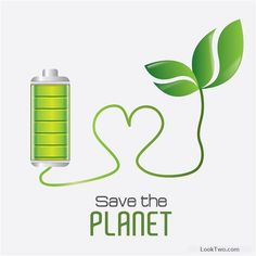 Save planet eco template vector set 01 free vector download