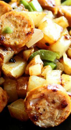 Sausage and Potato Skillet Dinner