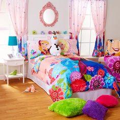 Disney Frozen Floral Breeze Sheet Set, Pink