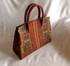 Oh so beautiful!  African print handbag. Ankara multi-colored. $60. Will ship. Janeth_Okoronkwo@yahoo.com