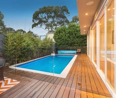 Frameless channel pool fencing: Designed to enhance the appearance of your outdoor areas, instead of interfering with it. Glass Pool Fencing, Pool Fence, Types Of Fences, Everton, Outdoor Areas, Online Gallery, Swimming Pools, Channel, Backyard