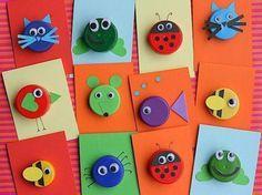 18 projets à base de bouchons de plastique pour faire des bricolages avec les enfants...