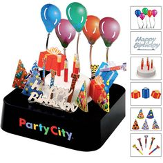 Birthday party magnetic sculpture block! Celebrate your birthday or that of your employees with some fun. This impressive executive toy features a magnetic base and several metal pieces that you can stack, rearrange, and play with. You'll be surprised how a small desk companion can provide such a big break from your busy day. #magnet #happy #birthday