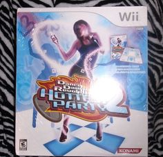 DANCE DANCE REVOLUTION HOTTEST PARTY 2 WII GAME & CONTROLLER NEW IN BOX SEALED