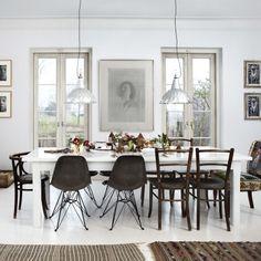 Hjemme hos blomsterdekoratør Henriette Staib spiller naturen en viktig rolle når huset skal pyntes til jul.