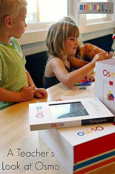 A Teacher and Mom Review of Osmo - and an inside look at their brand new game