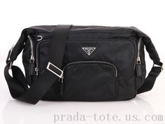 Authentic #Prada VS0060 Bags in Black Outlet store