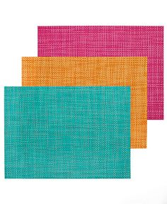 Chilewich Table Linens, Basketweave Spring Brights Placemat - Table Linens - Dining & Entertaining - Macy's