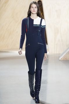 Lacoste Fall 2016 Ready-to-Wear Fashion Show - Vanessa Moody