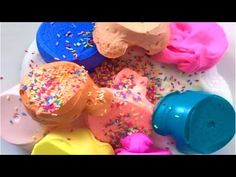 Clay Slime Mixing - Satisfying Slime ASMR video # 61! - YouTube