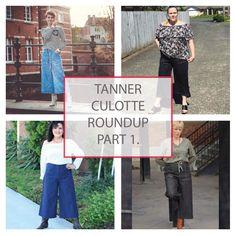 Tanner Culotte Tester Round Up Part 1 - Designer Stitch International Fashion Designers, Designer Collection, Australia, Shapes, Warm, Stitch, Pants, Tops, Trouser Pants