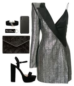 """""""Untitled #4472"""" by magsmccray on Polyvore featuring Thierry Mugler, Rebecca Minkoff, Apple, Various Projects and Yves Saint Laurent"""