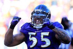 Terrell Suggs, DE, Baltimore Ravens