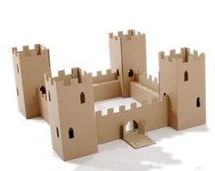Cardboardesign The Fort eco-friendly cardboard play castle