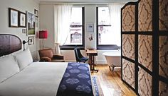 The NoMad Hotel - New York City, NY, USA New York's first hotel envisioned by French designer Jacques Garcia, The NoMad combines the classic luxury of Europe's grand hotels with today's design.