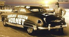 The Fabulous Hudson Hornet is a 1940s-50s old fashion race car in NASCAR history.