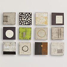 """Twelve by Lori Katz (Ceramic Wall Sculpture) (46"""" x 34"""")"""