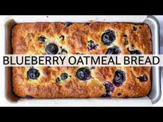 This incredibly easy blueberry bread (it takes just 10 minutes to mix!) gets an added dose of healthy with the addition of Greek yogurt and oats.