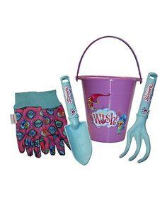 Shimmer and Shine Gardening Bucket & Tool Set #zulily #zulilyfinds